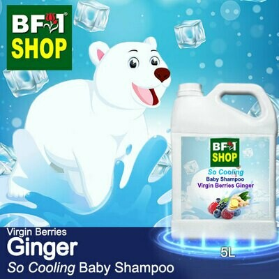 So Cooling Baby Shampoo (SCBS) - Virgin Berries Ginger - 5L