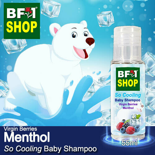 So Cooling Baby Shampoo (SCBS) - Virgin Berries Menthol - 55ml