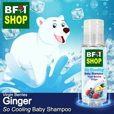 So Cooling Baby Shampoo (SCBS) - Virgin Berries Ginger - 55ml