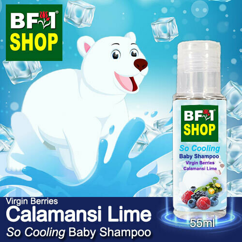 So Cooling Baby Shampoo (SCBS) - Virgin Berries lime - Calamansi Lime - 55ml