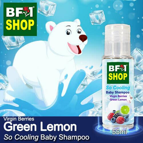 So Cooling Baby Shampoo (SCBS) - Virgin Berries Lemon - Green Lemon - 55ml