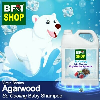 So Cooling Baby Shampoo (SCBS) - Virgin Berries Agarwood - 5L