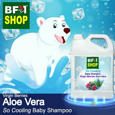 So Cooling Baby Shampoo (SCBS) - Virgin Berries Aloe Vera - 5L