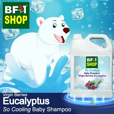 So Cooling Baby Shampoo (SCBS) - Virgin Berries Eucalyptus - 5L