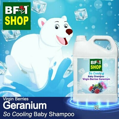 So Cooling Baby Shampoo (SCBS) - Virgin Berries Geranium - 5L