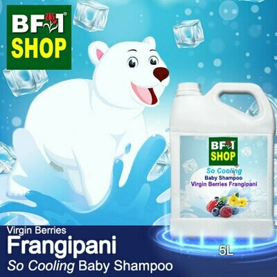 So Cooling Baby Shampoo (SCBS) - Virgin Berries Frangipani - 5L