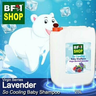 So Cooling Baby Shampoo (SCBS) - Virgin Berries Lavender - 25L