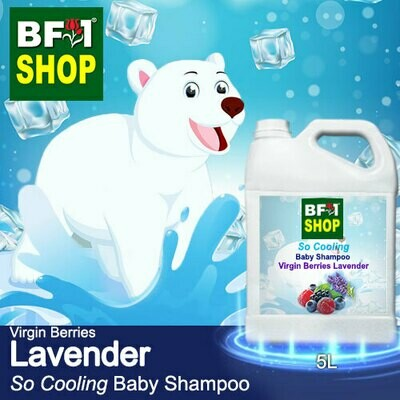So Cooling Baby Shampoo (SCBS) - Virgin Berries Lavender - 5L