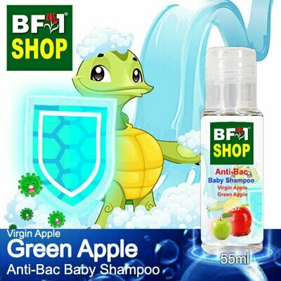 Anti-Bac Baby Shampoo (ABBS1) - Virgin Apple Apple - Green Apple - 55ml