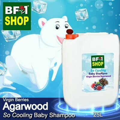 So Cooling Baby Shampoo (SCBS) - Virgin Berries Agarwood - 25L