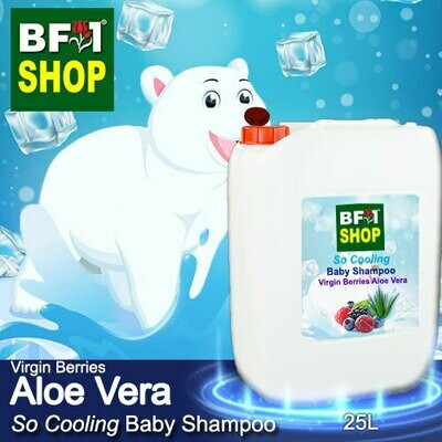 So Cooling Baby Shampoo (SCBS) - Virgin Berries Aloe Vera - 25L