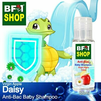 Anti-Bac Baby Shampoo (ABBS1) - Virgin Apple Daisy - 55ml