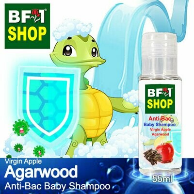 Anti-Bac Baby Shampoo (ABBS1) - Virgin Apple Agarwood - 55ml