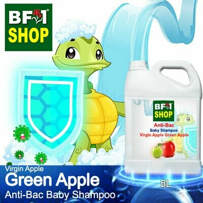 Anti-Bac Baby Shampoo (ABBS1) - Virgin Apple Apple - Green Apple - 5L