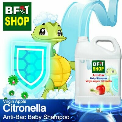 Anti-Bac Baby Shampoo (ABBS1) - Virgin Apple Citronella - 5L