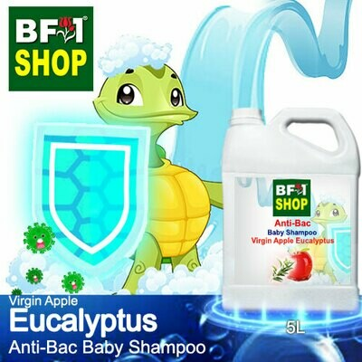 Anti-Bac Baby Shampoo (ABBS1) - Virgin Apple Eucalyptus - 5L