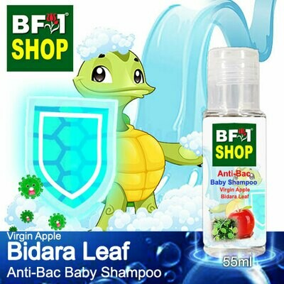Anti-Bac Baby Shampoo (ABBS1) - Virgin Apple Bidara - 55ml