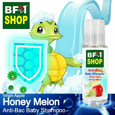 Anti-Bac Baby Shampoo (ABBS1) - Virgin Apple Honey Melon - 55ml