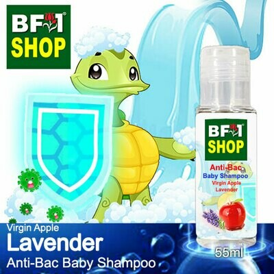 Anti-Bac Baby Shampoo (ABBS1) - Virgin Apple Lavender - 55ml