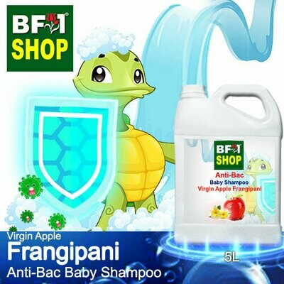 Anti-Bac Baby Shampoo (ABBS1) - Virgin Apple Frangipani - 5L
