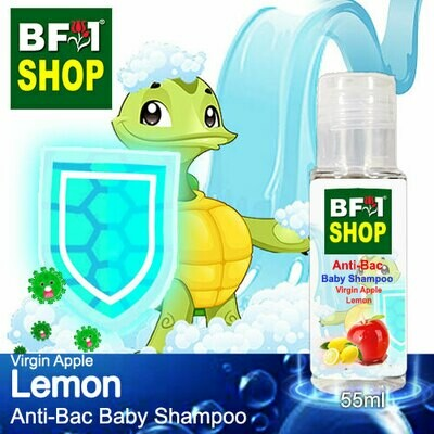 Anti-Bac Baby Shampoo (ABBS1) - Virgin Apple Lemon - 55ml