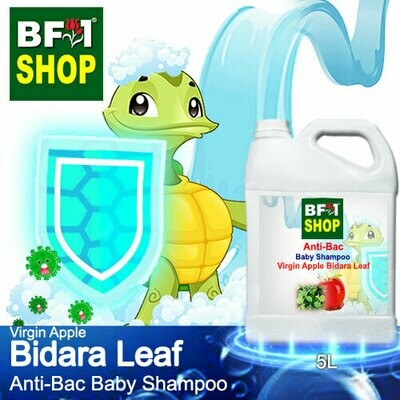 Anti-Bac Baby Shampoo (ABBS1) - Virgin Apple Bidara - 5L