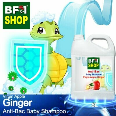 Anti-Bac Baby Shampoo (ABBS1) - Virgin Apple Ginger - 5L