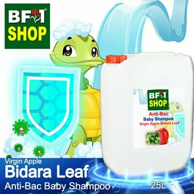 Anti-Bac Baby Shampoo (ABBS1) - Virgin Apple Bidara - 25L