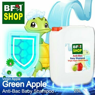 Anti-Bac Baby Shampoo (ABBS1) - Virgin Apple Apple - Green Apple - 25L