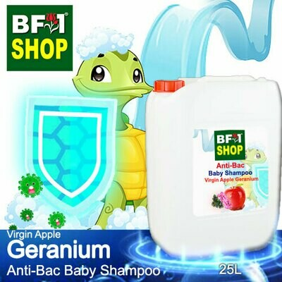 Anti-Bac Baby Shampoo (ABBS1) - Virgin Apple Geranium - 25L