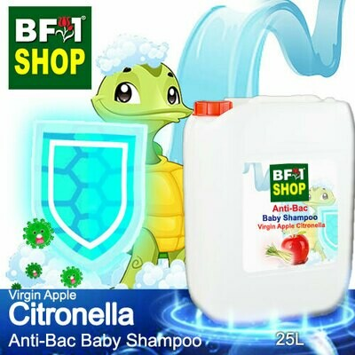 Anti-Bac Baby Shampoo (ABBS1) - Virgin Apple Citronella - 25L
