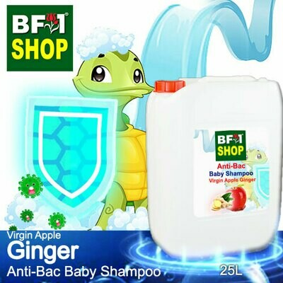 Anti-Bac Baby Shampoo (ABBS1) - Virgin Apple Ginger - 25L