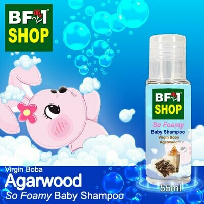 So Foamy Baby Shampoo (SFBS) - Virgin Boba Agarwood - 55ml