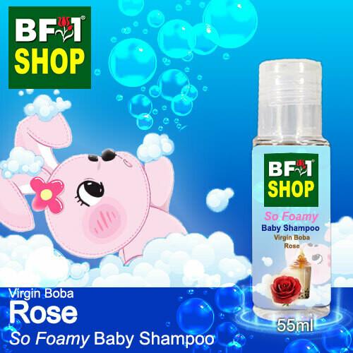 So Foamy Baby Shampoo (SFBS) - Virgin Boba Rose - 55ml