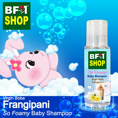 So Foamy Baby Shampoo (SFBS) - Virgin Boba Frangipani - 55ml