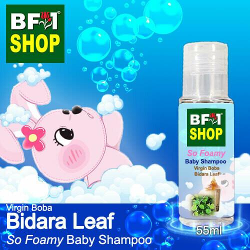 So Foamy Baby Shampoo (SFBS) - Virgin Boba Bidara - 55ml