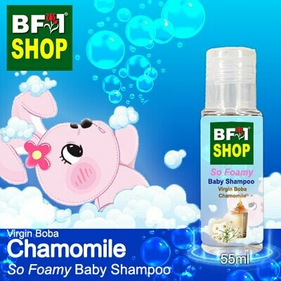 So Foamy Baby Shampoo (SFBS) - Virgin Boba Chamomile - 55ml