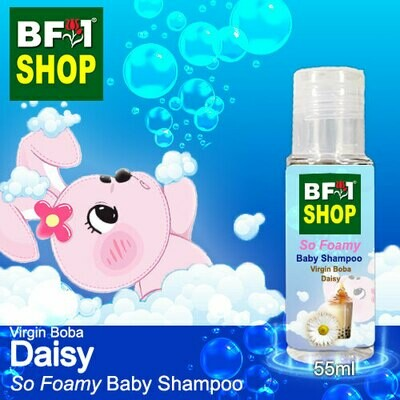 So Foamy Baby Shampoo (SFBS) - Virgin Boba Daisy - 55ml