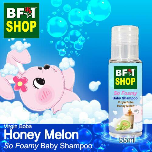 So Foamy Baby Shampoo (SFBS) - Virgin Boba Honey Melon - 55ml