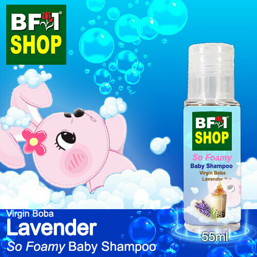 So Foamy Baby Shampoo (SFBS) - Virgin Boba Lavender - 55ml