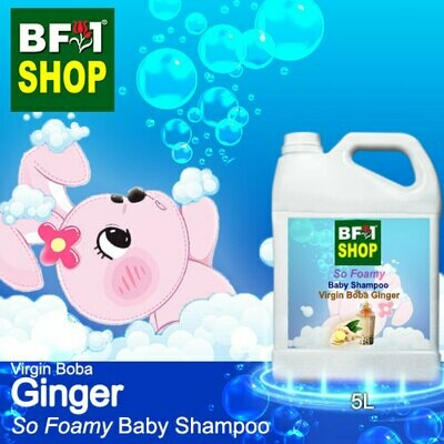 So Foamy Baby Shampoo (SFBS) - Virgin Boba Ginger - 5L