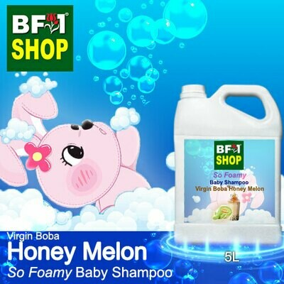 So Foamy Baby Shampoo (SFBS) - Virgin Boba Honey Melon - 5L