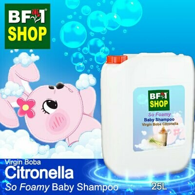 So Foamy Baby Shampoo (SFBS) - Virgin Boba Citronella - 25L
