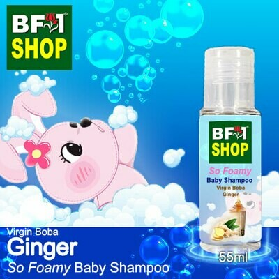 So Foamy Baby Shampoo (SFBS) - Virgin Boba Ginger - 55ml
