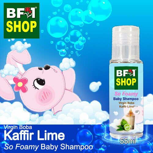 So Foamy Baby Shampoo (SFBS) - Virgin Boba lime - Kaffir Lime - 55ml