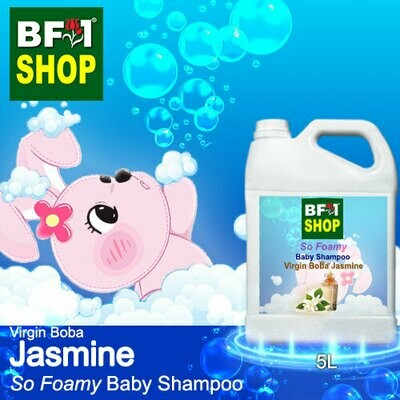 So Foamy Baby Shampoo (SFBS) - Virgin Boba Jasmine - 5L