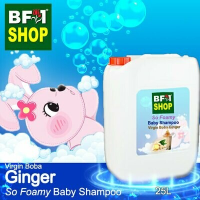 So Foamy Baby Shampoo (SFBS) - Virgin Boba Ginger - 25L