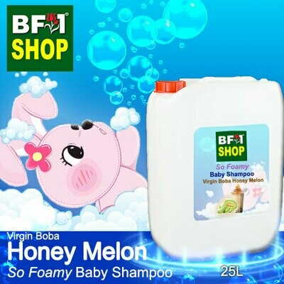 So Foamy Baby Shampoo (SFBS) - Virgin Boba Honey Melon - 25L