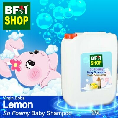 So Foamy Baby Shampoo (SFBS) - Virgin Boba Lemon - 25L