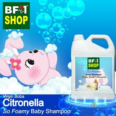So Foamy Baby Shampoo (SFBS) - Virgin Boba Citronella - 5L